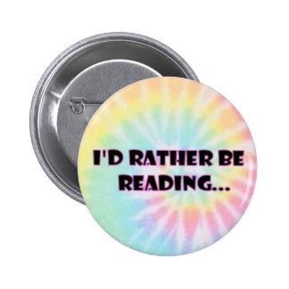 Sería bastante botón de lectura pin redondo de 2 pulgadas