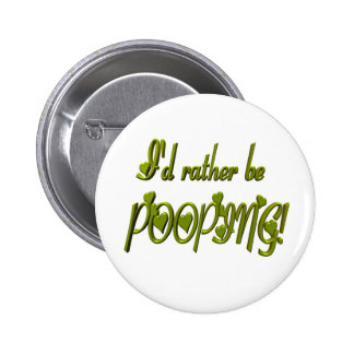 Sería bastante botón de Pooping