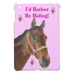 Sería bastante caso del iPad del caballo de montar