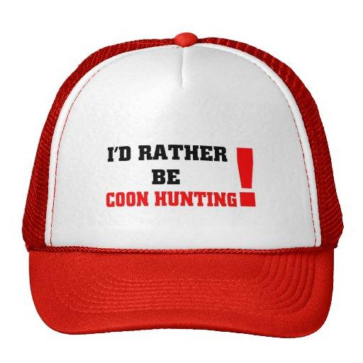 Sería bastante caza del coon gorras de camionero