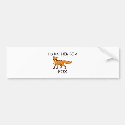 Sería bastante Fox de A Etiqueta De Parachoque