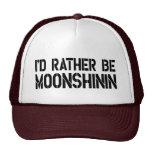 Sería bastante gorra del camionero de Moonshinin