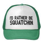 Sería bastante gorra del camionero de Squatchin