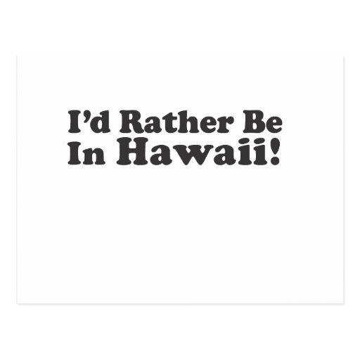 Sería bastante Hawaii Postales