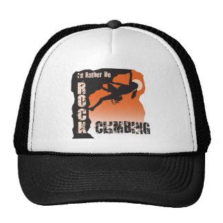 Sería bastante hembra de la camiseta de la escalad gorra