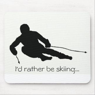 Sería bastante… mousepad de esquí