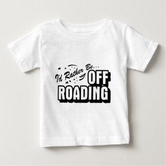 Sería bastante Off-Roading Playera De Bebé