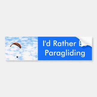 Sería bastante pegatina para el parachoques del Pa Pegatina Para Auto