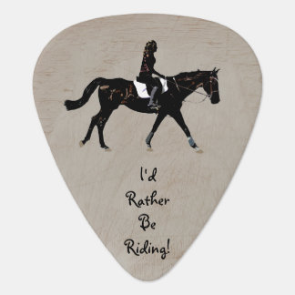 Sería bastante púa de guitarra del caballo de mont