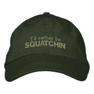 Sería bastante Squatchin Gorra De Béisbol