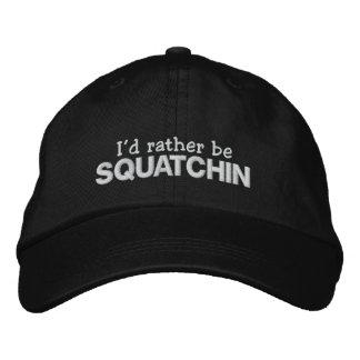 Sería bastante Squatchin Gorras De Béisbol Bordadas