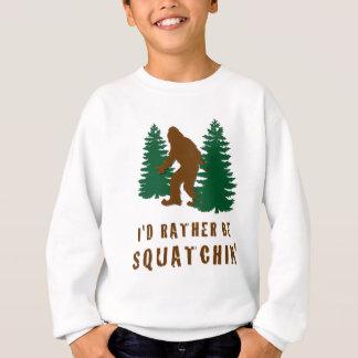 Sería bastante Squatchin Poleras