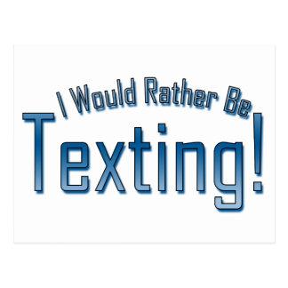 Sería bastante Texting Postal