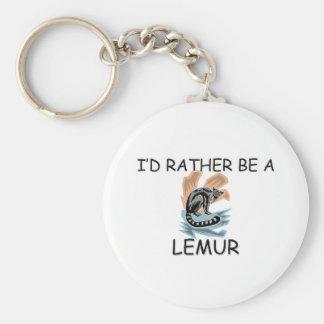 Sería bastante un Lemur Llaveros Personalizados