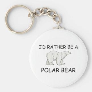 Sería bastante un oso polar llaveros personalizados