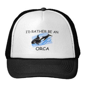 Sería bastante una orca gorras