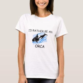 Sería bastante una orca playera