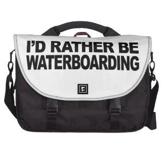Sería bastante Waterboarding Bolsa Para Ordenador
