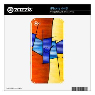 Seria Caloni V1 - el regalo iPhone 4S Calcomanía