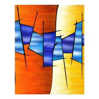 Seria Caloni V1 - the gift Letterhead