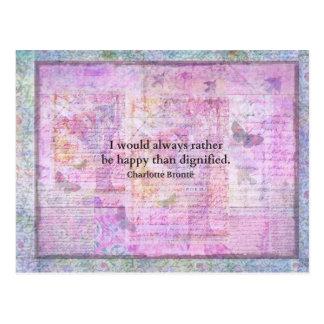 Sería siempre bastante feliz que dignificado tarjetas postales