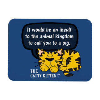 Sería un insulto a los animales para llamarle uno imanes de vinilo