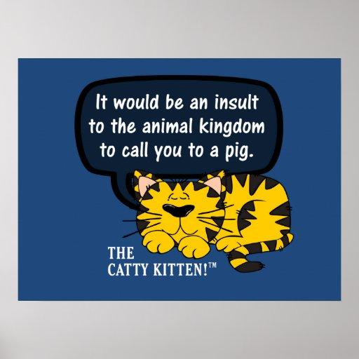 Sería un insulto a los animales para llamarle uno impresiones