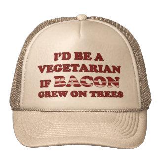 Sería un vegetariano si el tocino creció en el gor gorra