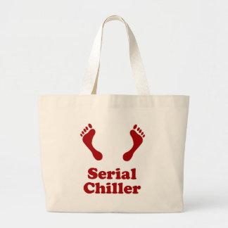Serial Chiller Large Tote Bag