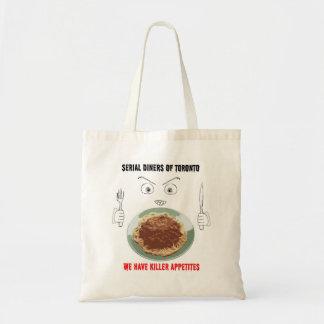 Serial Diners3 - Killer Appetite Tote Bag