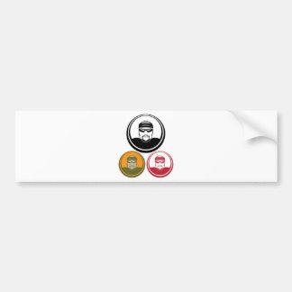 Serial Killer Bumper Sticker