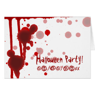 Serial Killer Halloween Party Invitation