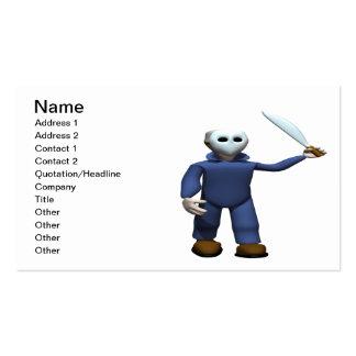 Serial Killer Stalker Business Card Templates