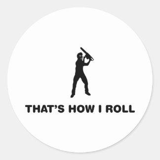 Serial Killer Round Sticker