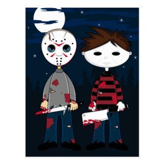 Serial Killers by Moonlight Greeting Card
