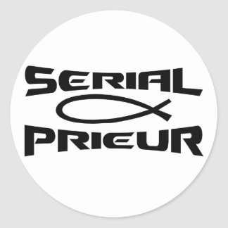 Serial Prieur ICHTUS Noir Stickers