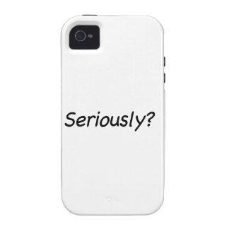 ¿Seriamente? iPhone 4/4S Carcasa