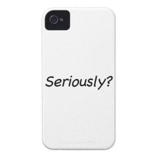 ¿Seriamente? Case-Mate iPhone 4 Protector