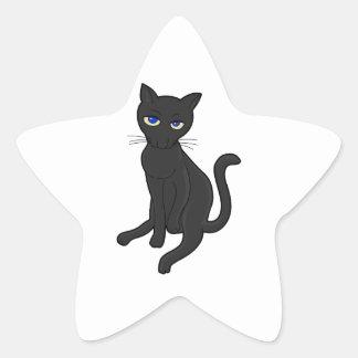¿Seriamente? Gato Calcomanías Forma De Estrella Personalizadas