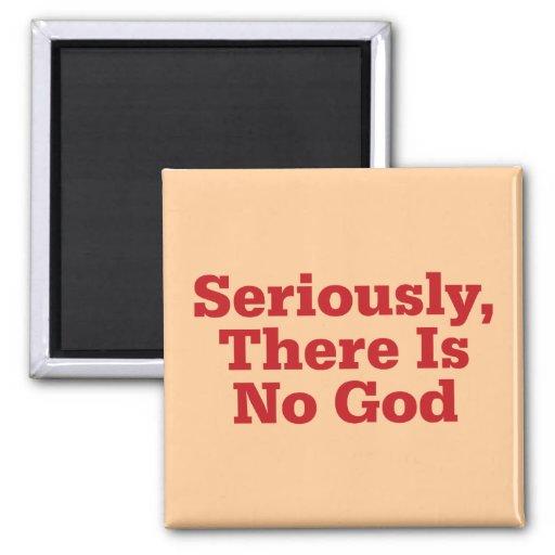 Seriamente, no hay dios imán cuadrado