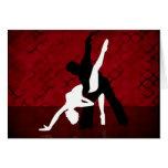 Serie 1 del tango tarjetas