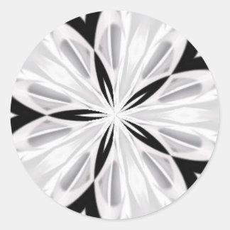 Serie 2009 del caleidoscopio pegatina redonda
