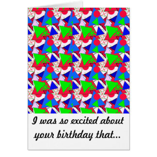 Serie 2 de la tarjeta de cumpleaños