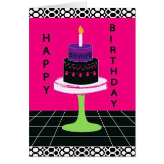 Serie 2 de la tarjeta de cumpleaños de Cakey