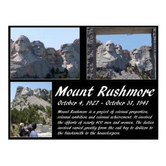 Serie #2 del monte Rushmore Tarjeta Postal