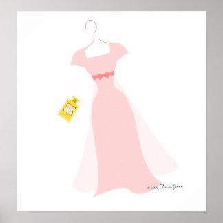 Serie 3 del vestido No.2 Póster