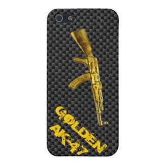 Serie AK-47 del oro iPhone 5 Fundas