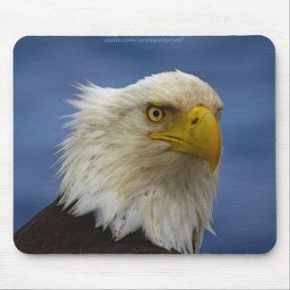 Serie AMERICANA de EAGLE CALVO Mousepad Tapete De Raton