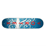 Serie azul 2 del vórtice patines personalizados