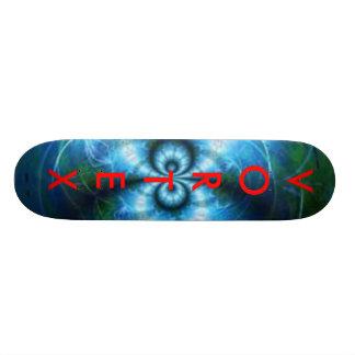 Serie azul 3 del vórtice tablas de skate